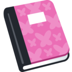 📔 Facebook / Messenger «Notebook With Decorative Cover» Emoji - Facebook Website version