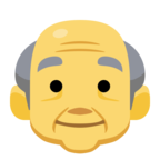 👴 Facebook / Messenger «Old Man» Emoji - Facebook Website version