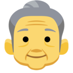 👵 Facebook / Messenger «Old Woman» Emoji