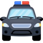 🚔 Facebook / Messenger Oncoming Police Car Emoji - Facebook Website