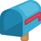 📭 Facebook / Messenger «Open Mailbox With Lowered Flag» Emoji