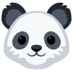 🐼 Смайлик Facebook / Messenger «Panda Face»