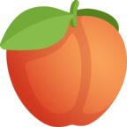 🍑 Facebook / Messenger «Peach» Emoji