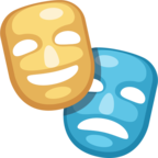 🎭 Facebook / Messenger «Performing Arts» Emoji - Facebook Website version