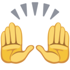 🙌 Facebook / Messenger «Raising Hands» Emoji