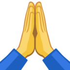 🙏 Facebook / Messenger «Folded Hands» Emoji