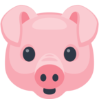 🐷 «Pig Face» Emoji para Facebook / Messenger