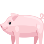 🐖 Смайлик Facebook / Messenger Pig - На сайте Facebook