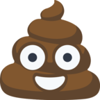 💩 Смайлик Facebook / Messenger Pile of Poo - На сайте Facebook