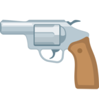🔫 Смайлик Facebook / Messenger «Pistol»