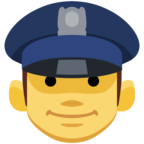👮 Facebook / Messenger Police Officer Emoji - Facebook Website