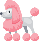 🐩 Смайлик Facebook / Messenger «Poodle»