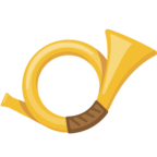 📯 Facebook / Messenger Postal Horn Emoji - Facebook Website