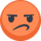 😡 Facebook / Messenger «Pouting Face» Emoji