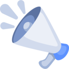 📢 Facebook / Messenger «Loudspeaker» Emoji - Facebook Website version