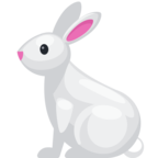 🐇 Смайлик Facebook / Messenger «Rabbit»
