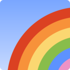 🌈 Смайлик Facebook / Messenger «Rainbow»