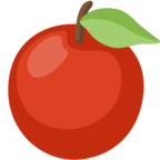 🍎 Facebook / Messenger «Red Apple» Emoji