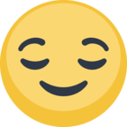 😌 Facebook / Messenger «Relieved Face» Emoji