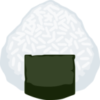 🍙 Facebook / Messenger «Rice Ball» Emoji