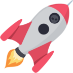 🚀 Смайлик Facebook / Messenger «Rocket»