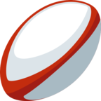 🏉 «Rugby Football» Emoji para Facebook / Messenger
