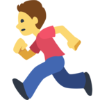 🏃 Facebook / Messenger «Person Running» Emoji