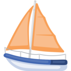 ⛵ Смайлик Facebook / Messenger «Sailboat»