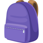 🎒 Facebook / Messenger School Backpack Emoji - Facebook Website