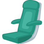 💺 Смайлик Facebook / Messenger «Seat»