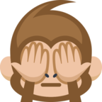 🙈 «See-No-Evil Monkey» Emoji para Facebook / Messenger