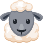 🐑 Смайлик Facebook / Messenger «Ewe»