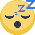 😴 Facebook / Messenger «Sleeping Face» Emoji