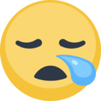 😪 Facebook / Messenger «Sleepy Face» Emoji