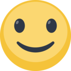 🙂 Facebook / Messenger Slightly Smiling Face Emoji - Facebook Website
