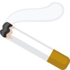 Facebook Emoji 🚬 - Cigarette Messenger