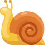 🐌 Смайлик Facebook / Messenger «Snail»