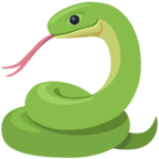 🐍 Смайлик Facebook / Messenger «Snake»