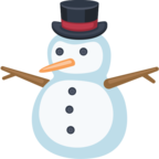 ⛄ «Snowman Without Snow» Emoji para Facebook / Messenger