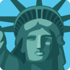 🗽 Facebook / Messenger «Statue of Liberty» Emoji