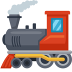 🚂 Facebook / Messenger Locomotive Emoji - Site Facebook