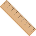 📏 Facebook / Messenger «Straight Ruler» Emoji