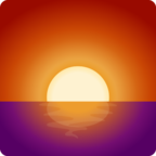 🌅 Facebook / Messenger «Sunrise» Emoji