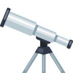 🔭 Смайлик Facebook / Messenger «Telescope»