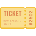 🎫 Facebook / Messenger «Ticket» Emoji
