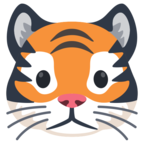 🐯 «Tiger Face» Emoji para Facebook / Messenger