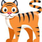 🐅 «Tiger» Emoji para Facebook / Messenger