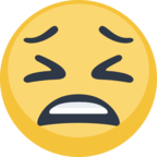😫 Facebook / Messenger Tired Face Emoji - Facebook Website
