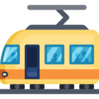 🚋 Facebook / Messenger «Tram Car» Emoji