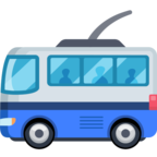 🚎 Смайлик Facebook / Messenger «Trolleybus»